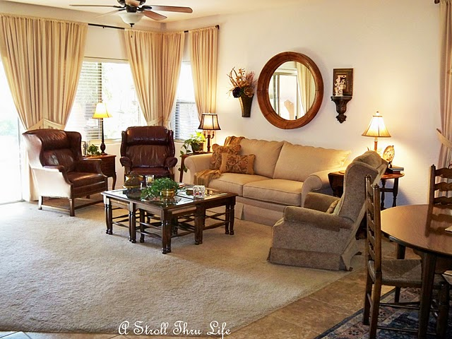 leather and fabric sofa in same room set india arnhistoria com ordinaire furniture arrangement but the drapes got a makeover i added contrasting